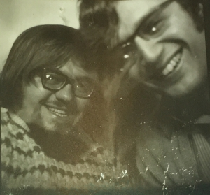 Mario and I sometime in the late 60's
