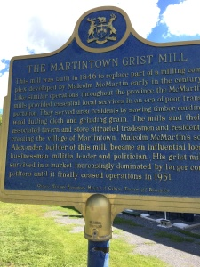 Martintown Grist Mill History