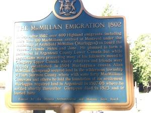 Macmillan Emigration History